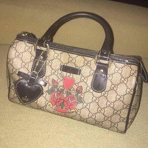 Authentic mini Gucci Boston Bag